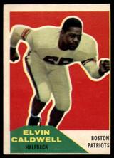 1960 Fleer #120 Elvin Caldwell VG  ID: 81812