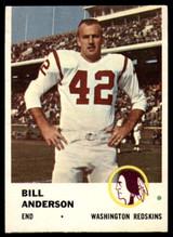 1961 Fleer #111 Bill Anderson VG