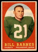 1958 Topps #4 Bill Barnes VG ID: 73657