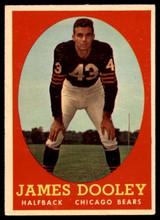 1958 Topps #8 Jim Dooley VG ID: 73665