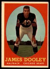 1958 Topps #8 Jim Dooley VG ID: 73666
