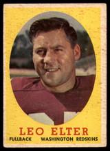 1958 Topps #25 Leo Elter VG ID: 73690