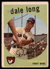 1959 Topps #414 Dale Long G/VG