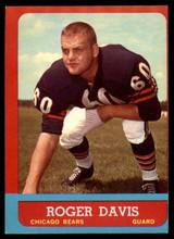1963 Topps #65 Roger Davis EX RC Rookie ID: 83933