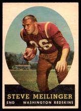 1958 Topps #33 Steve Meilinger VG