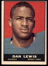 1961 Topps #30 Dan Lewis EX RC Rookie