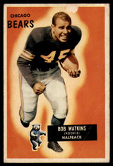 1955 Bowman #58 Bobby Watkins G ID: 70638