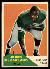 1960 Fleer #126 Jerry McFarland VG