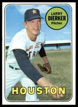 1969 Topps #411 Larry Dierker EX/NM  ID: 99618