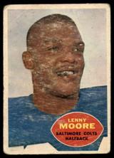 1960 Topps #3 Lenny Moore P