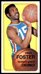 1970-71 Topps #53 Fred Foster VG Very Good
