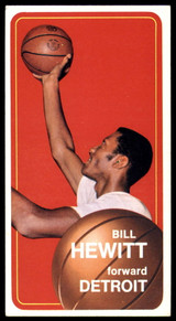 1970-71 Topps #56 Bill Hewitt VG Very Good