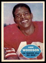 1960 Topps #120 Abe Woodson VG/EX