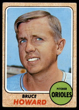 1968 Topps #293 Bruce Howard EX Excellent