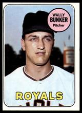 1969 Topps #137 Wally Bunker EX/NM