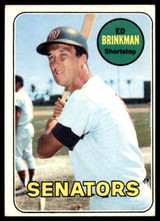 1969 Topps #153 Ed Brinkman EX/NM  ID: 99441