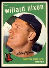 1959 Topps #361 Willard Nixon G