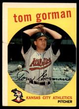 1959 Topps #449 Tom Gorman P
