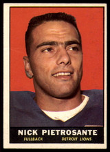 1961 Topps #31 Nick Pietrosante VG RC Rookie