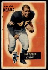 1955 Bowman #58 Bobby Watkins G ID: 81091