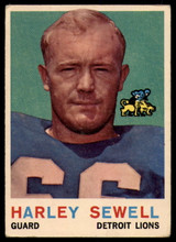 1959 Topps #73 Harley Sewell VG