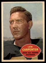 1960 Topps #53 Lew Carpenter VG  ID: 81889