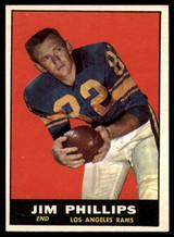 1961 Topps #51 Jim Phillips VG