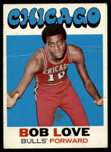 1971-72 Topps #45 Bob Love DP VG