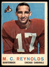 1959 Topps #135 M.C. Reynolds VG RC Rookie