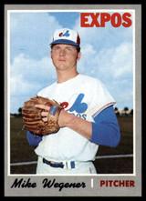 1970 Topps #193 Mike Wegener EX/NM  ID: 99886