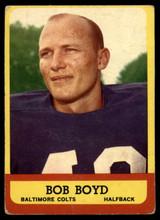 1963 Topps #11 Bob Boyd G/VG RC Rookie