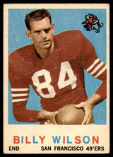 1959 Topps #148 Billy Wilson VG