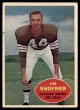 1960 Topps #29 Jim Shofner VG RC Rookie ID: 74102
