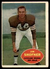 1960 Topps #29 Jim Shofner VG RC Rookie ID: 74103