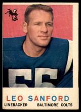 1959 Topps #149 Leo Sanford VG  ID: 84343