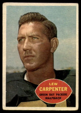 1960 Topps #53 Lew Carpenter VG ID: 74179
