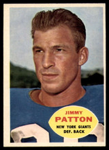 1960 Topps #79 Jim Patton VG  ID: 81918