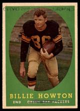 1958 Topps #6 Bill Howton UER P