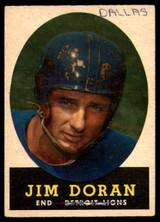 1958 Topps #43 Jim Doran P
