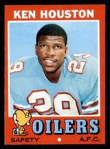 1971 Topps #113 Ken Houston Ex-Mint RC Rookie  ID: 301286