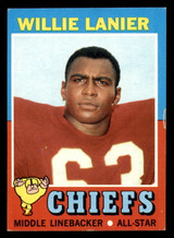 1971 Topps #114 Willie Lanier Ex-Mint RC Rookie  ID: 301303
