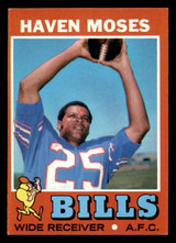 1971 Topps #112 Haven Moses Excellent+