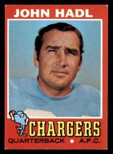 1971 Topps #255 John Hadl Excellent+  ID: 301316