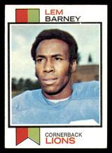 1973 Topps #370 Lem Barney Excellent+