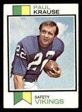 1973 Topps #380 Paul Krause Excellent+