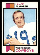 1973 Topps #61 Lance Alworth Excellent+