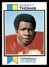 1973 Topps #107 Emmitt Thomas Ex-Mint