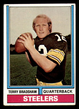 1974 Topps #470 Terry Bradshaw Excellent