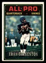 1974 Topps #129 Fran Tarkenton AP Very Good