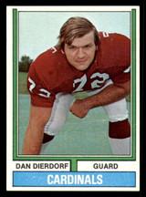 1974 Topps #32 Dan Dierdorf Ex-Mint